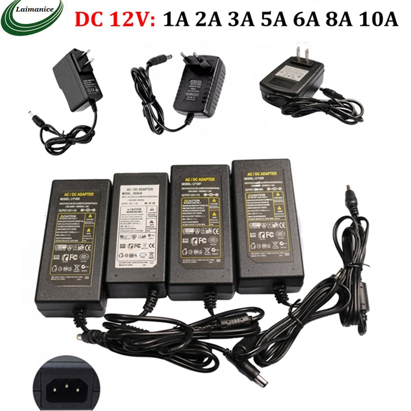 12V Power Supply AC100~240V To 12V LED Driver 1A 2A 3A 5A 6A 8A 10A Low Voltage Transformer For LED Strip HD Player CCTV Router boledegnye led power adapter ac 220v to dc 12v 1a 2a 3a 5a 6a 8a 10a led driver low voltage led transformer for led strip cctv