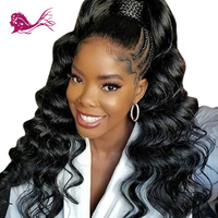 EAYON HAIR Glueless Full Lace & Lace Front Human Hair Wigs Body Wave For Black Women With Baby Hair 130% Density Brazilian