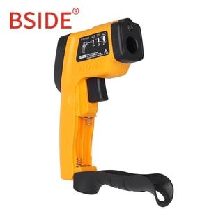 Image 4 - Bside GM320 Non Contact Digitale Laser Infrarood Thermometer Lcd Display C/F Selectie Ir Temperatuur Meter Tester Met 4 Knop