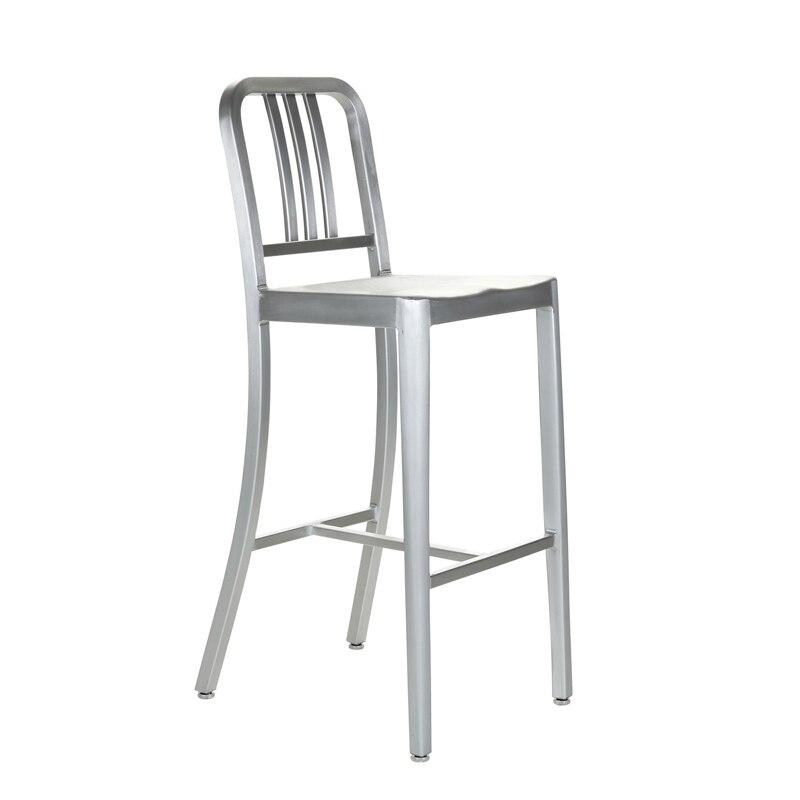 Métal Bar Marine Tabouret Chaise De Classique Café Ktv Aluminium nO0Pk8w