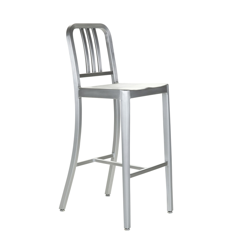 Exceptionnel Aluminum Bar Stool Chair Classic Navy Coffee KTV Metal Highchair Navy  Aluminum In Bar Chairs From Furniture On Aliexpress.com | Alibaba Group