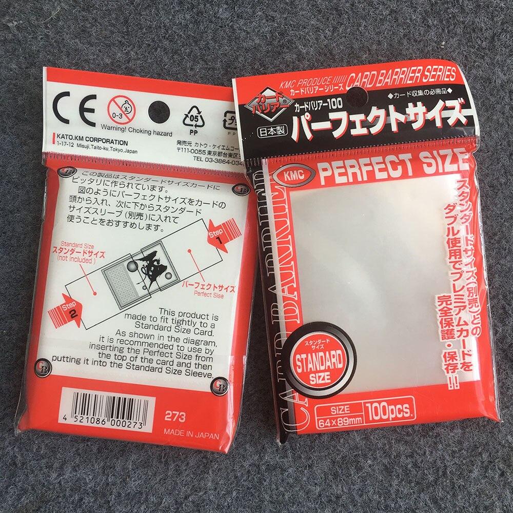KMC Card Barrier Box 1000 sleeve From Japan New