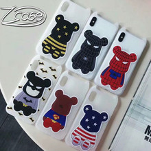 Cute cartoon Marvel Spiderman Batman Superman Mobile Shell for iPhoneX XS XSMAX XR Soft TPU Phone Case iPhone 7 8 6 6s plus