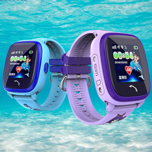 2017 DF25 Child Smart watch IP67 Swim GPS Touch Phone smart watch SOS Call Location Device Tracker Kids Safe Anti-Lost Monitor