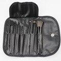 Professional 7 Pcs Maquiagem Escova Ferramentas Make-up Kit de Higiene Pessoal Lã Marca Make up Brush Set