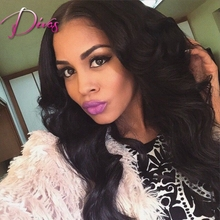 New Cap Style Lace Front Wigs For Black Women Fashion Style Body Wave Brazilian Human Hair Wig With Natural Hairline