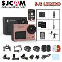 Original SJCAM SJ6 LEGEND 4K 24fps UHD Notavek 96660 Waterproof Action Camera 2.0″ Touch Screen Remote Sports DV