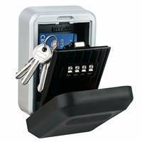 Storage wall mounted metal box password box lock key storage box anti theft