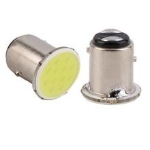 2pcs super White 1157 COB LED parking Reverse Backup Light car Lamp Bulb DC 12V hot selling