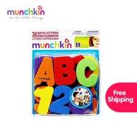 Brinquedos de banho Munchkin Letras e Números Crianças Educacional de Alta Qualidade Brinquedos para o Banho 36 Contagem