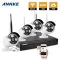 ANNKE 4CH Wireless 960P NVR Kit 4pcs 1.3MP Wireless IP Camera Security System Wifi Camera Video Surveillance Kit