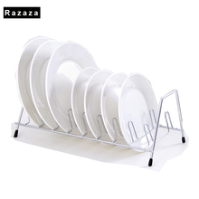 ФОТО  Stainless steel dish rack drying  kitchen tools storage rack Multifunction Under Sink Shelf organizer Bowl Plate holder