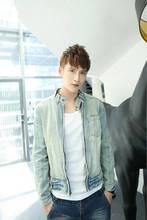 Hot New 2014 Spring Vintage Slim Jeans Jacket Men Casual Denim Jackets For Men Coat Mens