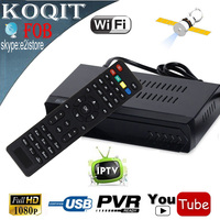 FOB Free To Air DVB S2 Digital Satellite HD Receiver IPTV Combo Support Youtube IKS Cccam