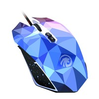 Original FMOUSE X8 Dazzle farbe Diamond Edition Gaming-maus Kabelgebundenen Maus Gamer Optische Computermaus Für Pro Gamer