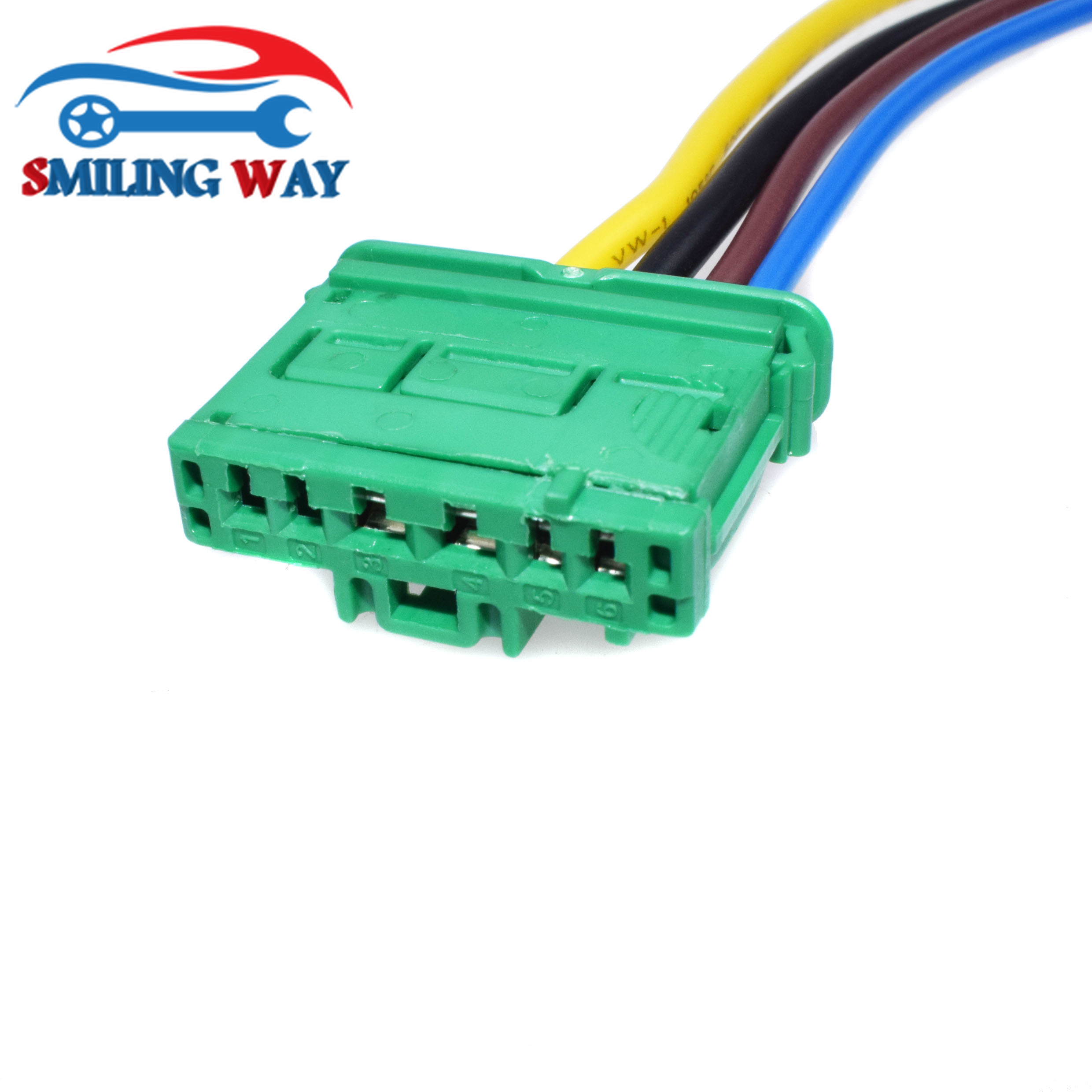 Smiling Way Heater Blower Resistor Wire Connector Plug For Peugeot Maf Wiring Citroen Renault C2 C3 C5 Twingo Megane 406 1007 207 607 In Motors From