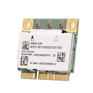 Image 5 - AzureWave AW CB160H ברודקום BCM94360HMB 802.11AC 1300Mbps אלחוטי WIFI WLAN Bluetooth 4.0 מיני PCI E כרטיס + 20cm MHF4 אנטנות