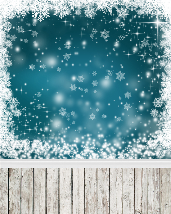 Fantasy Sparkle Silver Snow Flakes Indoor 5x7ft Christmas Photo Studio Props Vinyl Backgrounds Photography Backdrops виктория угрюмова серия азбука fantasy русская fantasy комплект из 7 книг