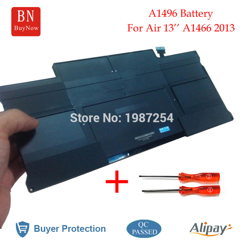 Genuine Cell A1496 Battery For Apple MacBook Air 13 A1466 Battery (Mid 2013 / Early 2014) 020-8143-A