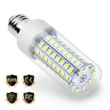 E27 светодиодный светильник E14 лампада светодиодный Светодиодная лампа-Кукуруза лампы в форме свечи 2835 энергосберегающий светильник для дома 220V 5730 30 36 48 56 69 89 102 светодиодный Bombilla GU10