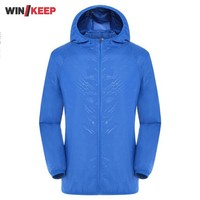 Summer Lovers Sportwwear Jacket Tourism Fishing Sunscreen Outdoor Jacket Men Women Thin Windproof Outwear Hooded Bike