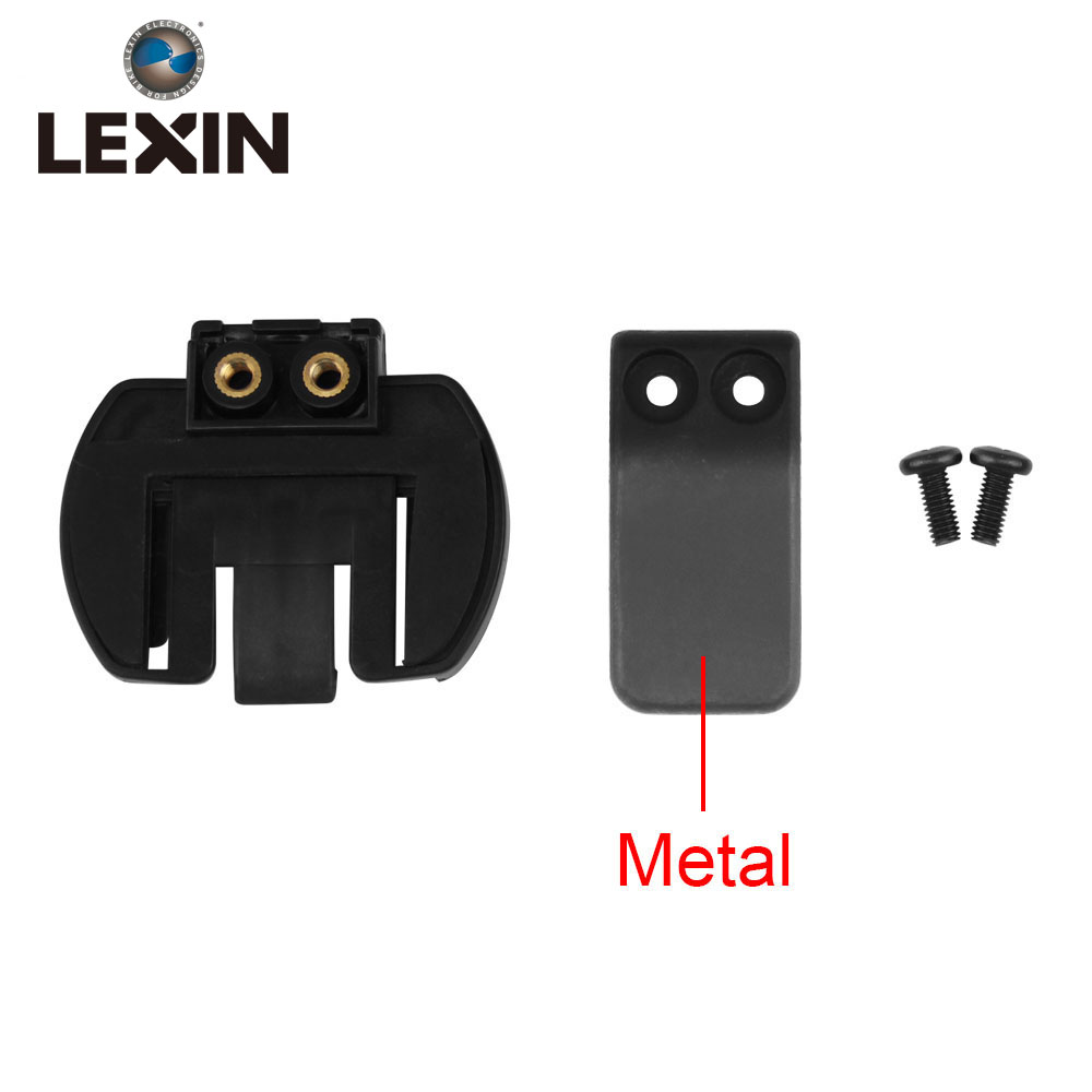 Free Shipping 1pc Metal Clip Clamp Set Accessories For Clamp Lx-r6/r4/r3 1200m Motorcycle Bluetooth Helmet Interphone Intercom Save 50-70%
