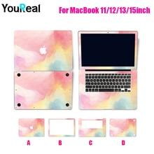 Pvc fosco laptop adesivo decalque adesivo cobrir a pele do portátil para apple macbook ar 11 13 Pro13 15 Retina 13 15 polegada Nova Retina 12