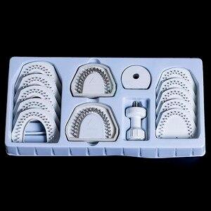 Image 2 - Système de modèle de laboratoire dentaire, pour broche Laser, outil déquipement sur le travail du modèle de plâtre, 1 kit