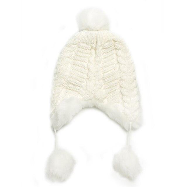 Woman Beanie Knitting Hat 2016 Happy Christmas Hats Bonnet Ladies Pompom Fur Snow Warm Skullies Fashion Women Winter Accessories