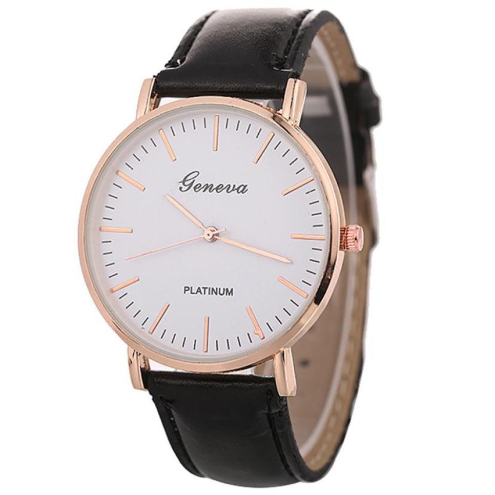 Women Watch High Quality Relogio Feminino Bayan Kol Saati Montre Femmere Ladies Wrist Watch  Wristwatch Unisex Ladies Casual 3#