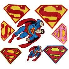 1 шт., Мстители, супергерой, Супермен, Человек-паук, Звездные войны, 3D вышитый мультфильм, железные нашивки для одежды, сделай сам, аппликация для парчи