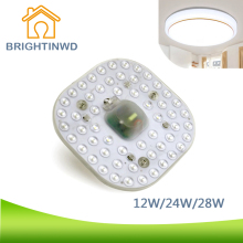 SMD LED beads 12W24W28W 22V LED PANEL Circle Ring Light SMD 5730 LED Round Ceiling board the circular lamp board for Dining room