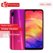 Global Version Xiaomi Redmi Note 7 4GB 64GB 48MP Cameras Snapdragon 660 Octa Core 6.3'' FHD+ Mobile Phone QC 4.0 4000mAh Battery(China)