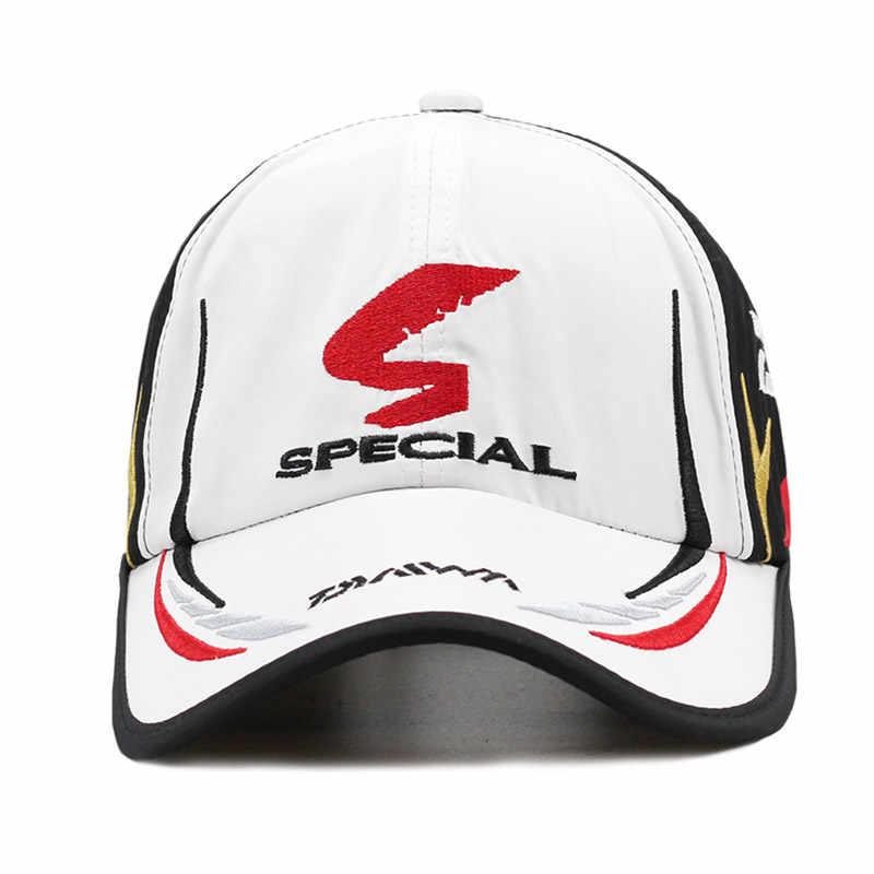 5faf484187be0 ... Real brand Daiwa cap Adult Men Adjustable fishing cap Daiwa Hat  Japanese Japan Sunshade Sport Baseball ...
