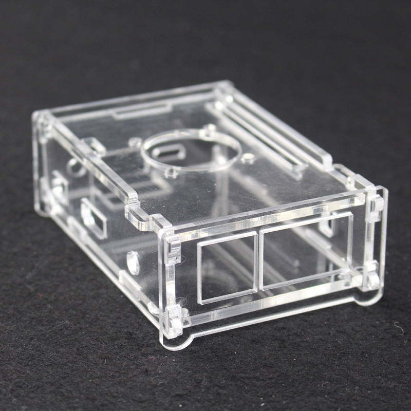 Transparent Acrylic Case for Orange Pi PC Clear Box Cover Shell Enclosure  for Orange Pi PC Plus