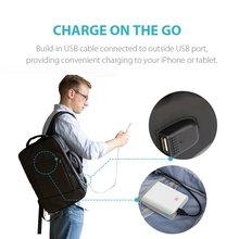 Power Bank Bag USB Charge Backpack External USB Output Port Notebook Camera Backpack Handbag