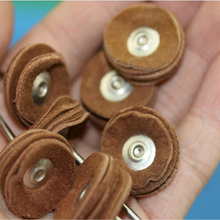 Buffing Dental Leather for