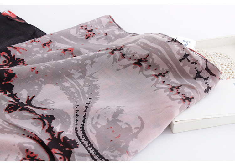Dark Shading Cashmere Scarf | Shawls and Wraps | Up to 60% Off Now