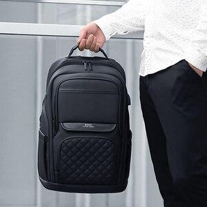 Image 5 - Homens Da Moda Mochila Multifuncional Bolsa Para Laptop À Prova D Água 15.6 Polegada Fenruien Carregamento USB Travel Bag Mulheres Mochila Casuais