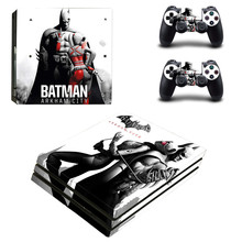 Cool Spiderman Pattern PS4 pro Skin Sticker For Sony Playstation 4 Promotion Console & 2Pcs Controller Protection Film