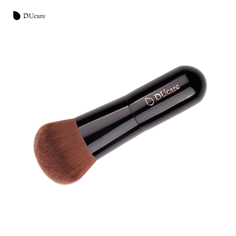 Eye Shadow Applicator Intelligent Saiantth Eyes Advanced Shading Brush Goat Hair Kabuki Makeup Brushes Black Rattan Wound Professional Make Up Tool Maquiagem Slim