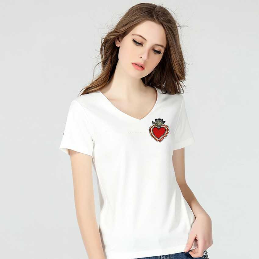 Małe żelazne na plastry na odzież czerwone usta kształt warg haft szyć na ubrania patch dla kobiet T-shirt dla dzieci plecaki repasser