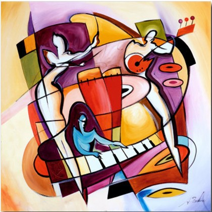 Nude abstract art  Stroking the Keys by Alfred Gockel oil painting canvas High quality Hand painted Home Decor GiftNude abstract art  Stroking the Keys by Alfred Gockel oil painting canvas High quality Hand painted Home Decor Gift