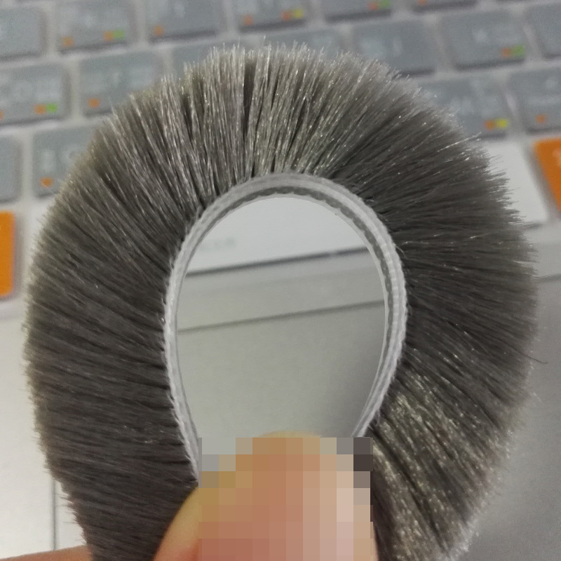 Felt Draught Excluder Wool Pile Weather Strip Sliding Sash Window Door Brush Seal Waterproof 5x12 5mm x 12mm 10m Gray Black