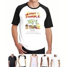 86fb5b7c2f9 STREET FIGHTER 2 STREET FIGHTER II VIDEOGAME ARCADE per Uomo e Bambino men t -shirt