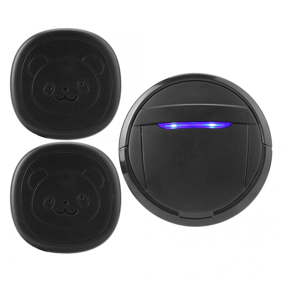 Wireless Waterproof Touch Button Dog Training Door Bell SOS Caller 1 Transmitter 1 Receiver 300m Remote Control Smart Doorbell-5