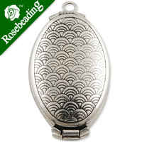 33*20 mm Antique Silver Oval double Lockets Pendant Victorian Style,engraving locket,antique locket for sale,Sold 20 pcs per pkg