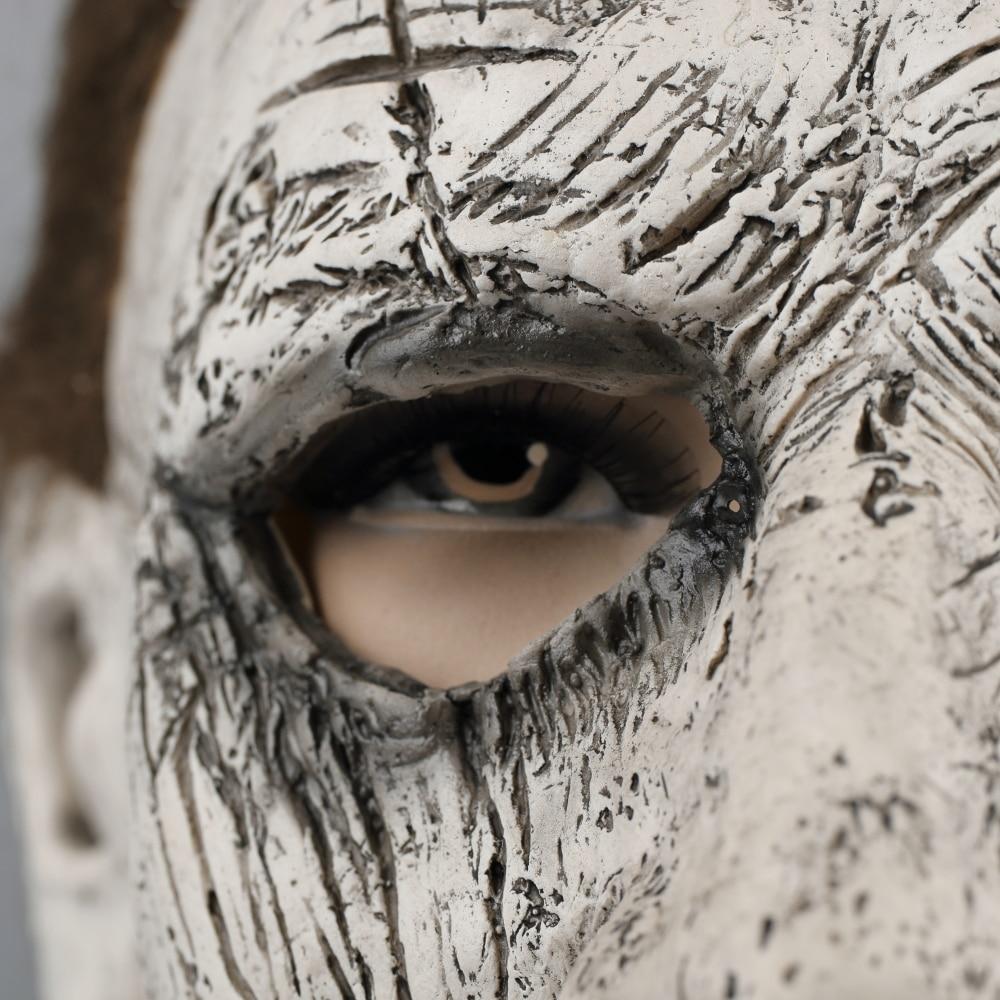 2018 Halloween Mask New Michael Myers Mask Scary Horror Halloween Handmade Mask (9)
