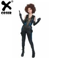 XCOSER Дэдпул 2 Косплей домино полный комплект костюм из полиуретана Дэдпул 2 черный Хэллоуин Косплей Костюм для взрослых