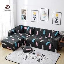 Parkshin Feder Schutzhülle Stretch Sofa Abdeckungen Möbel Protector Polyester Sofa Couch Abdeckung Sofa Handtuch 1/2/3/4  sitzer
